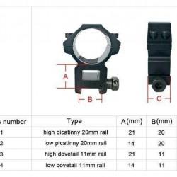 DISCOVERY HS 4-14X44 FFP Side Parallax Zero Lock Hunting Rifle Scope Sight