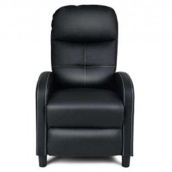 Massage Leather Recliner Chair with Remote Control
