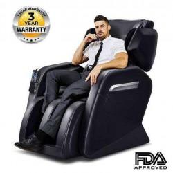 OOTORI Full Body Massage Chair/Zero Gravity/Neck, Back, Legs, and Foot Shiatsu Massage Black