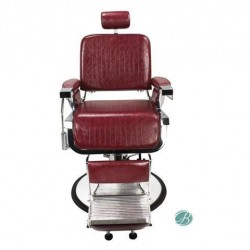 BERKELEY Barber Chairs CRIMSON LINCOLN Iron Cast Metal Structure Styling Barber Shop Furniture