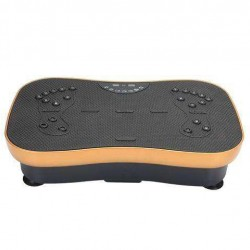 Comfortable Remote Control Type Ultra Electric Massager-Gold