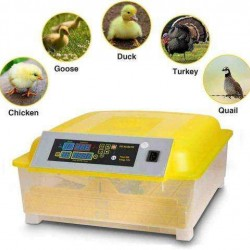 48Egg Incubator Digital Automc Turner Hatcher Chicken Egg Temperature Control