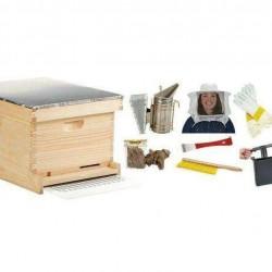 HIVE10KIT 10-Frame Deluxe Beginner Hive Kit