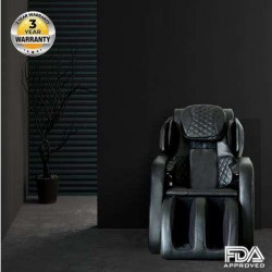 OOTORI Massage Chair Full Body Recliner Zero Gravity Shiatsu Luxurious Electric Massage Chair Foot Rolling and Built in Heat with Bluetooth Speaker Black