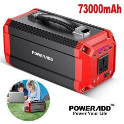73000mAh Portable Generator Power Inverter Power Bank 300W Fast Charger