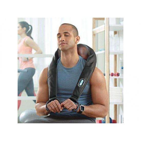 Brookstone Cordless Shiatsu Neck & Back Massager with Heat