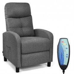 Remote Control Massage Recliner Chair with 5 Massage Modes