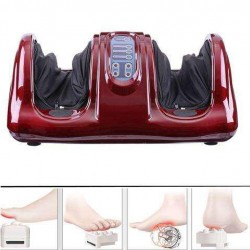 Electric Foot Massager Ankle Calf Kneading Rolling Machine Circulation Shiatsu Health
