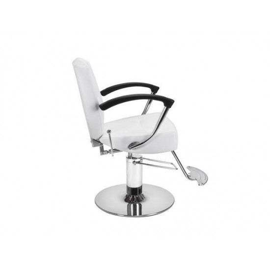 Beauty Salon Styling Chair HERMAN WHITE All Purpose Salon Furniture and Barber Chairs
