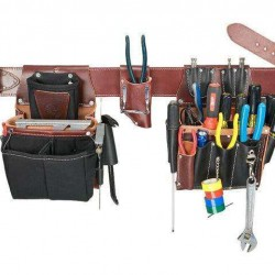 Commercial Electrician Tool Belt w/ 37 Pockets