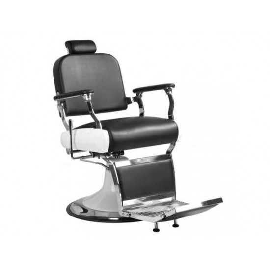Stainless Steel HeavyDuty Hydraulic Recline Barber Chair SalonBeauty Shampoo
