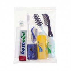 Freshscent 2319869 Large Elite Young Adult Hygiene & Toiletries Kit - Case of 24