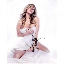Real Deal Memorabilia MCarey11x14-4 Sexy Singer Mariah Carey Signed Autographed Photo