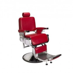 Barber Chair RED LINCOLN Iron Cast Metal Structure Styling Barber Shop Furniture