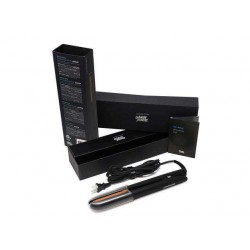 Glampalm Simpletouch Motion-Activated Flat Iron Ceramic Hair Straightener, 1 inch Plates + Heat Resistant Cap