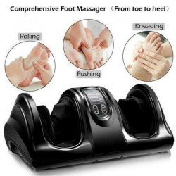 Shiatsu Foot Massager with Remote Control-Black