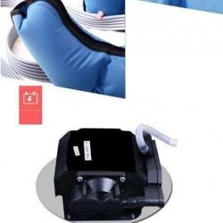6 Air Chambers Leg Compression Massager Arm Waist Calf Relaxed Circulation Pressure Massage Electric Massager-A