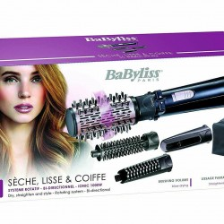 BaByliss AS200E Brush Air Hot 4 Heads Dry Shaping Straightening and Volume