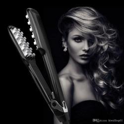 50 pcs Volumizing Hair Iron Electric Ceramic Fast Hair Fluffy Professional
